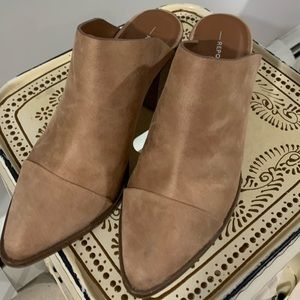 Leather Suede Slip On
